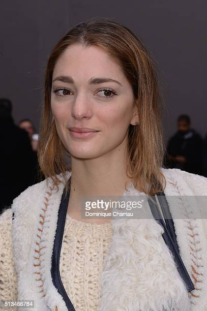 Sofia Sanchez de Betak attends the Chloe show as part of the Paris Fashion Week Womenswear Fall/Winter 2016/2017 on March 3 2016 in Paris France