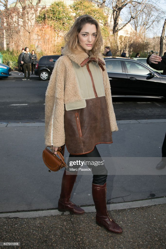 Sofia Sanchez de Betak attends the Chloe show as part of the Paris Fashion Week Womenswear Fall/Winter 2017/2018 on March 2, 2017 in Paris, France.