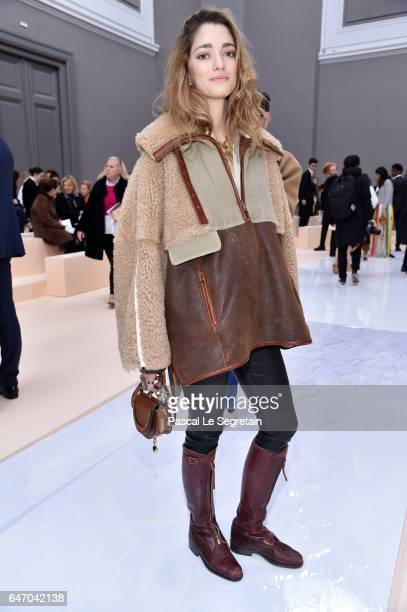 Sofia Sanchez de Betak attends the Chloe show as part of the Paris Fashion Week Womenswear Fall/Winter 2017/2018 on March 2 2017 in Paris France