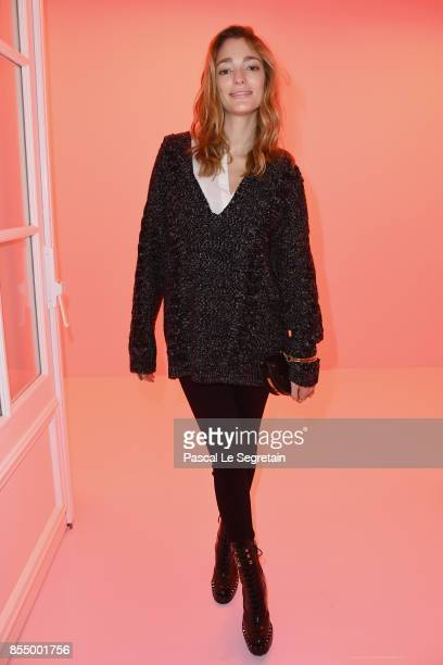 Sofia Sanchez de Betak attends the Chloe show as part of the Paris Fashion Week Womenswear Spring/Summer 2018 on September 28 2017 in Paris France