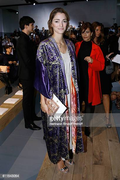 Sofia Sanchez de Betak attends the Christian Dior show as part of the Paris Fashion Week Womenswear Spring/Summer 2017 on September 30 2016 in Paris...