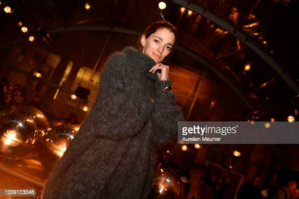 Sofia Sanchez De Betak attends the Isabel Marant show as part of the Paris Fashion Week Womenswear Fall/Winter 2020/2021 on February 27 2020 in Paris...
