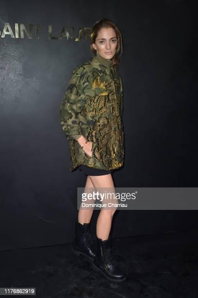 Sofia Sanchez de Betak attends the Saint Laurent Womenswear Spring/Summer 2020 show as part of Paris Fashion Week on September 24 2019 in Paris France
