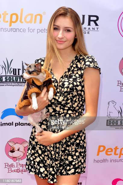 Sofia Strauss attends 4th Annual World Dog Day at West Hollywood Park on May 18, 2019 in West Hollywood, California.