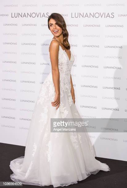 Sofia Suescun presents 2019 Luna Novias new collection on September 20 2018 in Madrid Spain