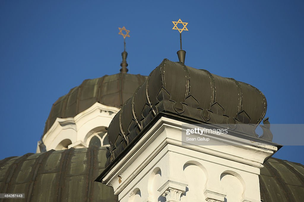 Sofia Synagogue, which is Europe's third largest and built in 1909, stands on December 8, 2013 in Sofia, Bulgaria. Sofia is becoming an increasingly popular tourit destination.
