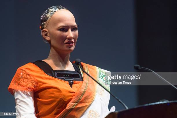 Sofia the humanoid robot made its first appearance in India at Indian Institute of Technology Bombay on Saturday during its cultural extravaganza...