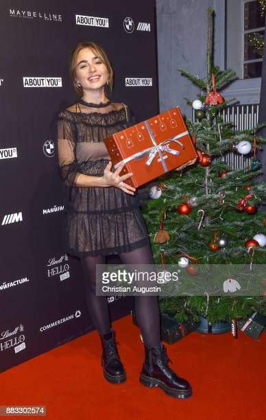 Sofia Tsakiridou attends the Christmas Dinner Party of Lena Gercke at the Bar Hygge on November 30 2017 in Hamburg Germany