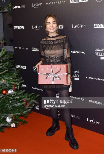 Sofia Tsakiridou attends the Christmas Dinner Party of Lena Gercke at the Bar Hygge on November 30 2017 in Hamburg Germany