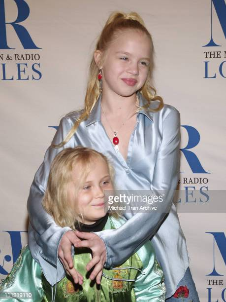 Sofia Vassilieva and Maria Lark during The Museum of Television Radio Presents The 23rd Annual William S Paley Television Festival An Evening with...