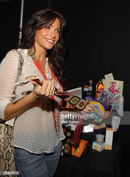 Sofia Veraga during Backstage Creations at the 2006 NCLR ALMA Awards Day 1 in Los Angeles California United States