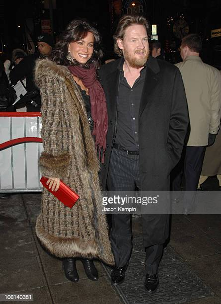 Sofia Vergara and Donal Logue during 'Ghost Rider' New York City Premiere Outside Arrivals at Regal EWalk Stadium 13 in New York City New York United...