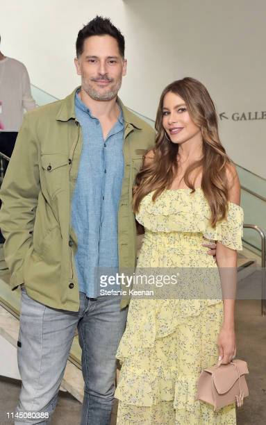 Sofia Vergara and Joe Manganiello attend Hammer Museum KAMP 2019 on May 19 2019 in Los Angeles California