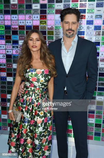 Sofia Vergara and Joe Manganiello attend the Premiere of Warner Bros Pictures' Ready Player One at Dolby Theatre on March 26 2018 in Hollywood...