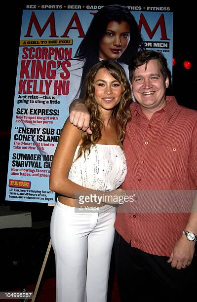 Sofia Vergara and Keith Blanchard EditorinChief Maxim