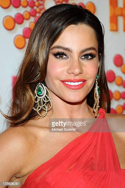 Sofia Vergara arrives at HBO's Annual Emmy Awards Post Award Reception Arrivals on September 18 2011 in Los Angeles California
