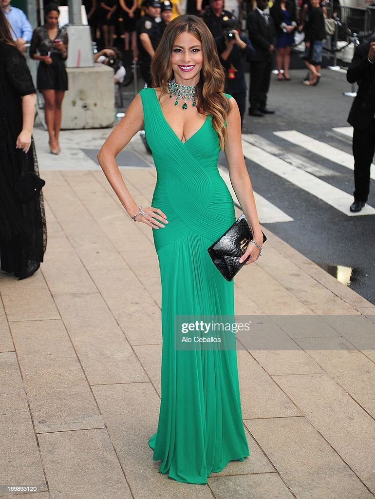Sofia Vergara arrives at the 2013 CFDA Fashion Awards at Alice Tully Hall on June 3, 2013 in New York, New York.