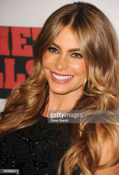 "Sofia Vergara arrives at the ""Machete Kills"" - Los Angeles Premiere at Regal Cinemas L.A. Live on October 2, 2013 in Los Angeles, California."