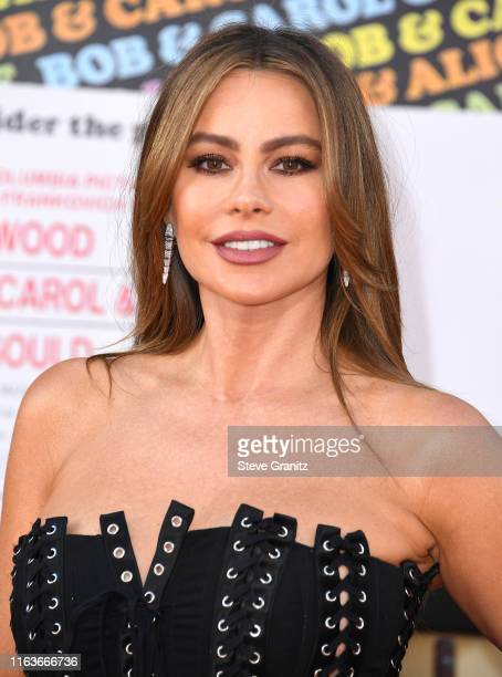 Sofia Vergara arrives at the Sony Pictures' Once Upon A TimeIn Hollywood Los Angeles Premiere on July 22 2019 in Hollywood California