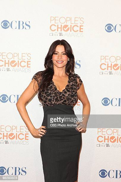 Sofia Vergara at the People's Choice Awards 2010 Press Conference held at the SLS Hotel at Beverly Hills in Los Angeles CA