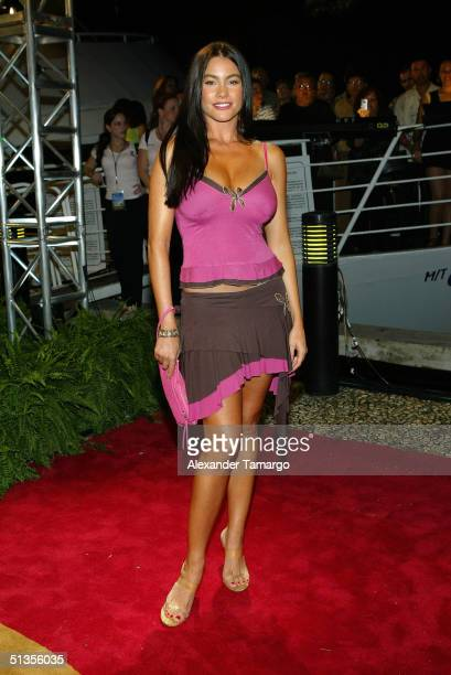 Sofia Vergara attends the 1st Annual Premios Juventad Awards at the James L Knight Center September 23 2004 in Miami Florida