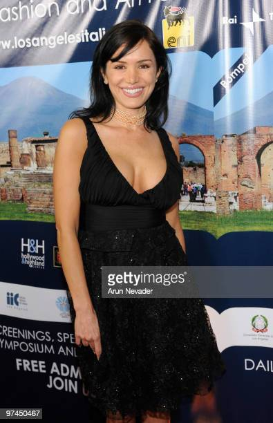 Sofia Vergara attends the 5th Annual Los Angeles Italia Festival Honors Latanya And Samuel L Jackson at Mann Chinese 6 on March 4 2010 in Los Angeles...