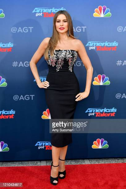 "Sofia Vergara attends the ""America's Got Talent"" Season 15 Kickoff at Pasadena Civic Auditorium on March 04, 2020 in Pasadena, California."