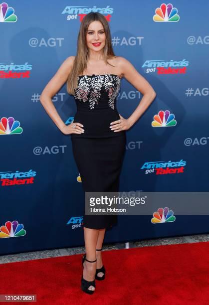 Sofia Vergara attends the America's Got Talent Season 15 Kickoff at Pasadena Civic Auditorium on March 04 2020 in Pasadena California