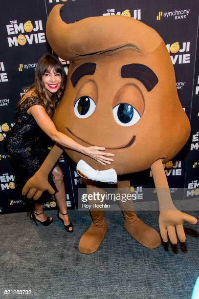 Sofia Vergara attends 'The Emoji Movie' special screening at NYIT Auditorium on Broadway on July 23 2017 in New York City