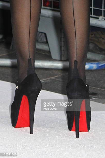Sofia Vergara attends the European film premiere of 'Happy Feet 2' at Empire Leicester Square on November 20 2011 in London England