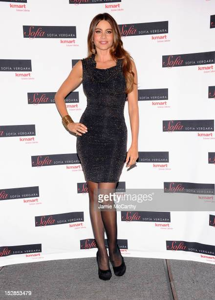 Sofia Vergara attends the Fall Sofia By Sofia Vergara Collection Launch at Kmart on September 27 2012 in New York City