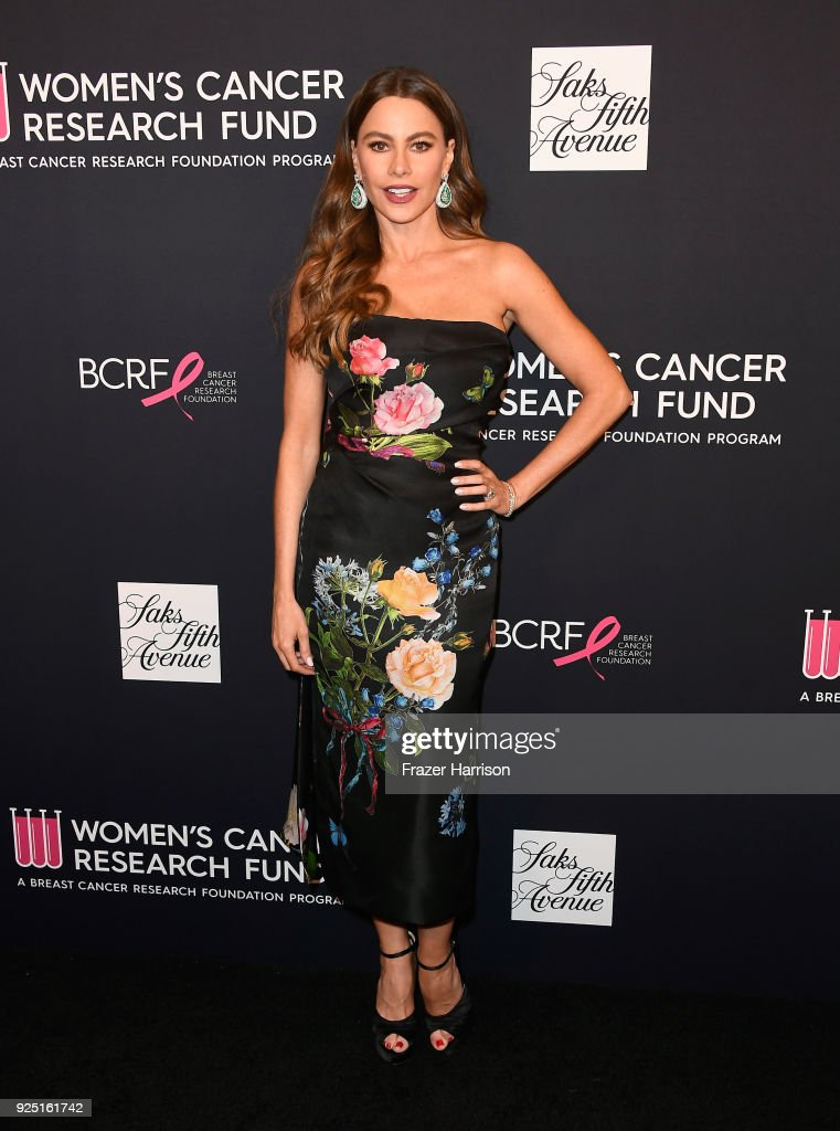 Sofia Vergara attends WCRF's 'An Unforgettable Evening' at the Beverly Wilshire Four Seasons Hotel on February 27, 2018 in Beverly Hills, California.