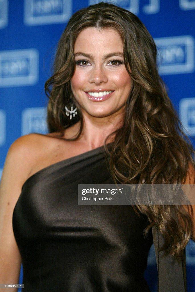 Sofia Vergara during 2003 ESPY Awards - Press Room at Kodak Theatre in Hollywood, California, United States.