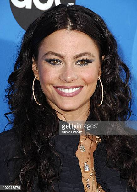 Sofia Vergara during ABC All Star Party 2006 Arrivals at Rose Bowl in Pasadena California United States