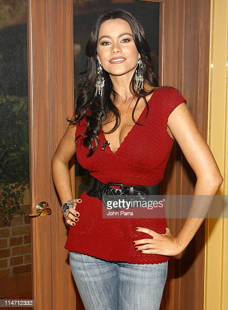 Sofia Vergara during Escandalo TV Celebrates a 5th Anniversary at Telefutura Studios in Miami Florida United States