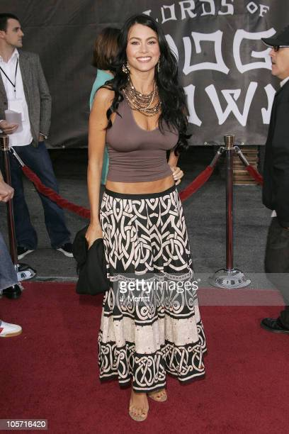 Sofia Vergara during Lords of Dogtown Los Angeles Premiere at Mann's Chinese Theater in Hollywood California United States