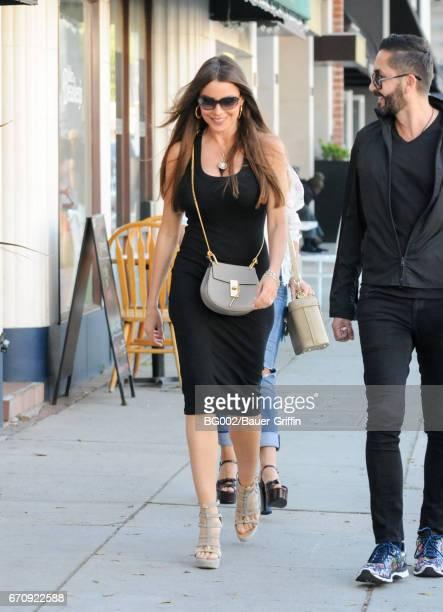 Sofia Vergara is seen on April 20 2017 in Los Angeles California