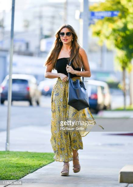 Sofia Vergara is seen on June 19, 2019 in Los Angeles, California.