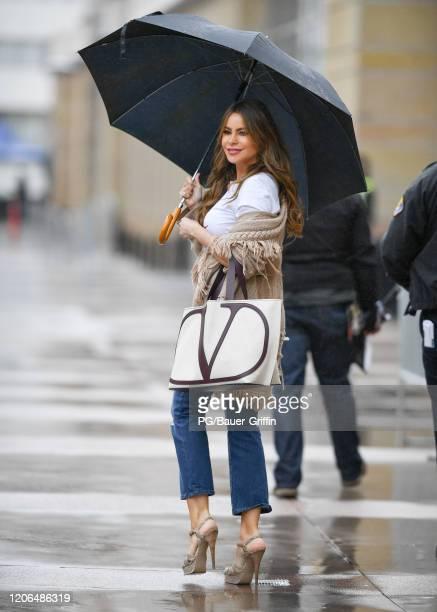Sofia Vergara is seen on March 10, 2020 in Los Angeles, California.