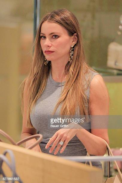 Sofia Vergara is seen on May 03 2016 in Los Angeles California