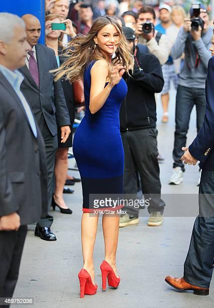 Sofia Vergara is seen on September 23 2015 in New York City