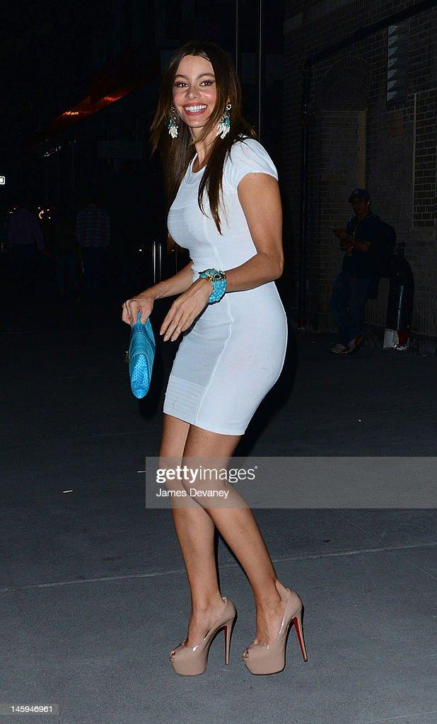 Sofia Vergara and Nick Loeb Sighting In New York City - June 7, 2012