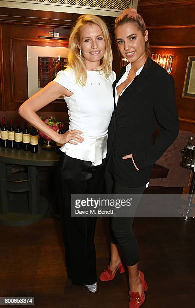 Sofia Wellesley and Amber Le Bon attend a private dinner to celebrate the Lady Garden x Topshop collection launch in support of the Gynaecological...