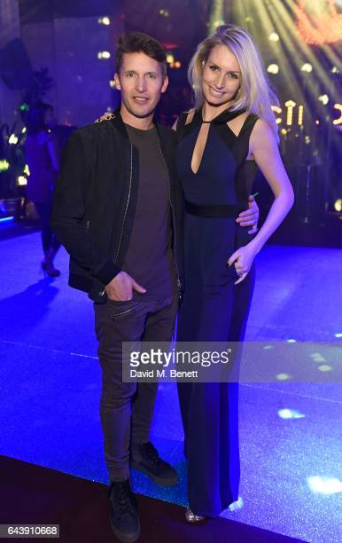 Sofia Wellesley and James Blunt attend The Warner Music & Ciroc Brit Awards After Party on February 22, 2017 in London, England.
