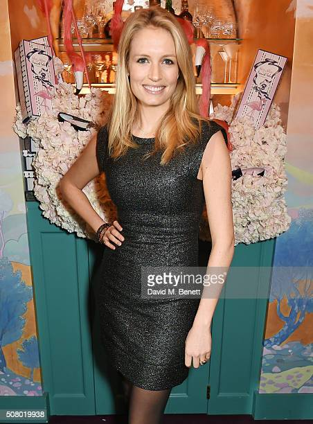 Sofia Wellesley attends a VIP dinner celebrating the launch of Mrs. Alice for French Sole at Annabel's on February 2, 2016 in London, England.