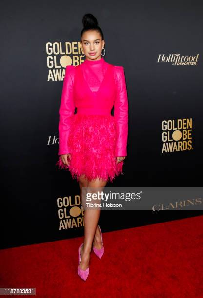 Sofia Wylie attends the HFPA and THR Golden Globe Ambassador Party at Catch LA on November 14 2019 in West Hollywood California
