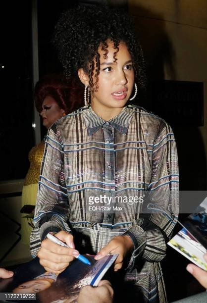 Sofia Wylie is seen on September 30, 2019 at Los Angeles.