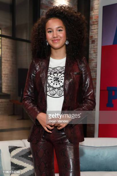Sofia Wylie visit's People Now on November 5 2019 in New York United States
