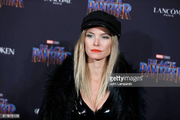 Sofia Zamolo attends Marvel Studios Presents Black Panther Welcome To Wakanda during February 2018 New York Fashion Week The Shows at Industria...