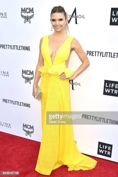 Sofia Zamolo attends The Daily Front Row's 4th Annual Fashion Los Angeles Awards Arrivals at The Beverly Hills Hotel on April 8 2018 in Beverly Hills...